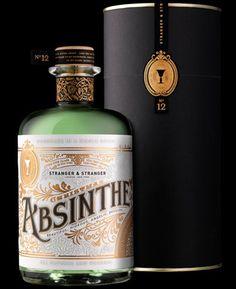 Stranger  Stranger Absinthe, Christmas bottle No12