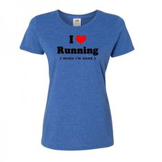 This defines my relationship with running.  22 Graphic Tees That Sum Up How We Feel About Working Out - Shape.com