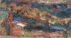 Frank-Auerbach-E.O.W.-on-her-blue-Eiderdown-III.JPG (1000×538)