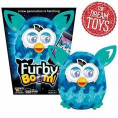 Furby Boom Blue Waves Figure by Hasbro  #KohlsDreamToys