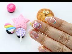 [미대의 네일컬렉션]62화_아이스크림 네일아트/Ice cream nail art - YouTube