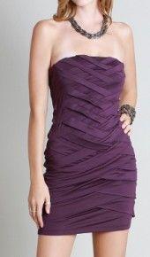 Strapless Sheath Dress
