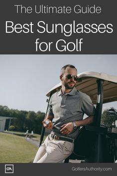 Golf Fashion Are you looking for the Best Sunglasses for Golf? Check out our in depth buyers guide to find the best pair of sunglasses for you. Golf Sunglasses, Golf Score, Golf Instruction, Golf Putting, Golf Exercises, Perfect Golf, Golf Training, Golf Lessons, Golf Accessories