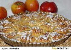 Alsaský jablečný koláč recept - TopRecepty.cz Czech Recipes, Apple Pie, Sweet Recipes, Muffin, Cooking Recipes, Sweets, Dishes, Cookies, Breakfast