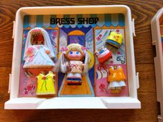Vintage 1979 Knickerbocker Toy Co. Lot of 16 DOLLY POPS Doll Dolls and Accessories