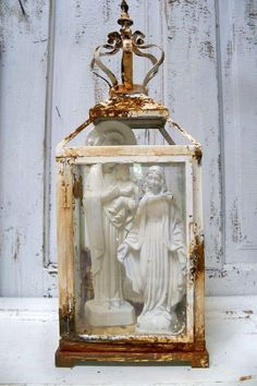 French religious shrine and Madonna set with by AnitaSperoDesign, $175.00