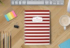 Organizer z okładką stripes_3