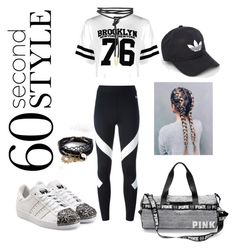 """""""get ready for the game"""" by liyamay28 ❤ liked on Polyvore featuring Boohoo, NIKE, adidas Originals, adidas and ASOS"""