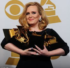 """This record is inspired by something that's really normal and everyone's been through it, just a rubbish relationship. And it's gone on to do things I can't tell you how I feel about it. It's been the most life-changing year."" Adele after winning album of the year for ""21."""
