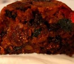 Christmas Fig Pudding
