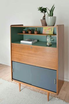 Upcycled Furniture Retro 64 Best Ideas, # Furniture furniture upcycled - painted retro chest of drawers, mid century . Retro Furniture, Living Furniture, Repurposed Furniture, Furniture Projects, Furniture Makeover, Cool Furniture, Painted Furniture, Furniture Design, Furniture Restoration