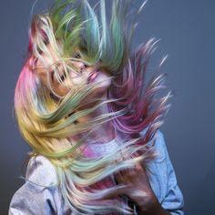 Great mermaid hair from daryna_barykina #mermaidhair #rainbow #haircolour