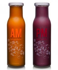 Beverages Packaging Design – AM / PM Health Drink