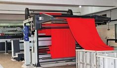 Compactor machine used in textile sector