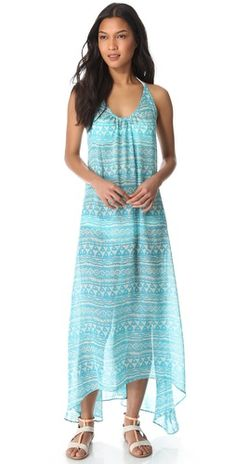 Blue Dresses, Summer Dresses, Best Swimwear, Print Chiffon, Cover Up, Tulum, Fashion Outfits, Maya, Clothes For Women