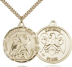 St. Michael Pendant (Gold Filled) by Bliss | Catholic Shopping .com