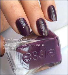 Essie Turn 'n' Pose - Essie Gel Couture 2016. All the swatches & review at imabeautygeek.com