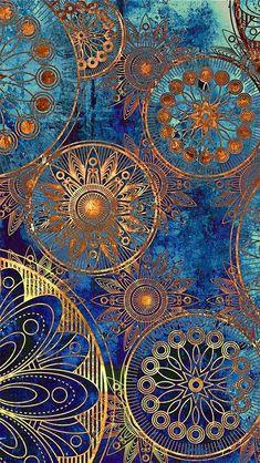 Golden Wheels wallpaper/ 10 wallpaper trends that bring in luxury