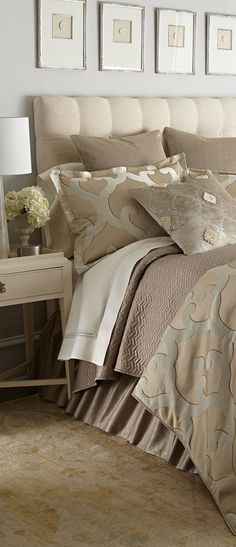Jane Wilner Luxury Bedding #bedrooms