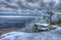 A winter scene near Roanoke, VA - Photo by Mr. Jeff Hammond