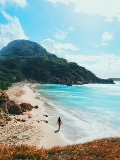 Yo quiero ir a Puerto Rico para caminar por las calles y hacer buceo.