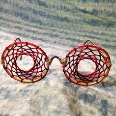 Day tripper glasses- dreamcatcher sunglasses hippie costume festival wear bohemian accessorie
