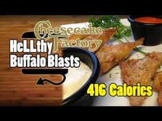 ▶ Cheesecake Factory Buffalo Blasts Appetizer Recipe ~ 416 Calories - YouTube
