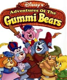 Gummi Bears was a very fun show. They had magical bears, secret underground race tracks, dragons, and you always looked forward to when the would drink some gummi berry juice and go super bouncy to get out of trouble.