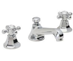 """Venice 8"""" Widespread Lavatory Faucet - spout projection 5-3/8"""" to center1/4 turn ceramic disc cartridge(s)1-1/4"""" all brass lift rod style pop-up drain assembly1.5 gpm water saving aerator"""