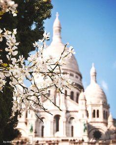 Sacré coeur in spring // Pinterest: @eleanorkirsty ✨