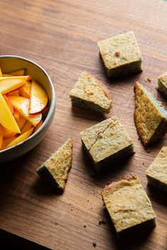 Learn to make corn bread made with blue corn.