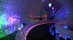 The Aurora Ice Hotel bar - America's Most Extreme Mind-Blowing Hotels | UnMotivating