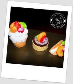 Cidiana: Naranjas, fresas y kiwis..... en fieltro