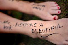 Not everyone is beautiful