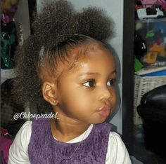 Top Ten Natural Styles for Kids shows video tutorials of the best styles for natural children Black Baby Girl Hairstyles, Toddler Braided Hairstyles, Kids Curly Hairstyles, Natural Hairstyles For Kids, Natural Hair Styles, Mixed Baby Hairstyles, Natural Hair Puff, School Hairstyles, Prom Hairstyles