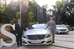 Mercedes-Benz Malaysia delivered 10,845 units to customers in 2015. Mercedes-Benz Malaysia president and CEO, Dr Claus Weidner (left), and vice president, sales and marketing passenger cars, Mark Raine, with the S400 Hybrid.