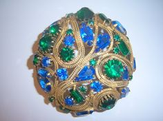 Huge Alice Caviness Brooch signed by YesterdayOnceAgain on Etsy