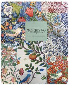 Vackra tyger och tapeter från William Morris! | Östermalms Textil