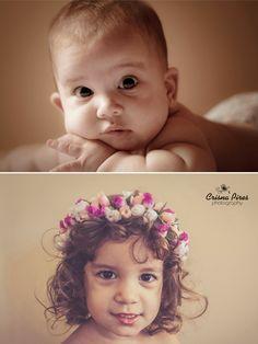Crisna Pires {Photography}: Alice { com 6 meses e com 2 anos e 8 meses }