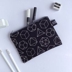 Platonic Solids Pencil Case