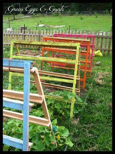 Creative trellising and other springtime gardening inspiration!