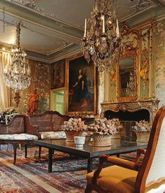 Chateau de Deulin, Luxembourg, Belgium Built and decorated in the 18th century