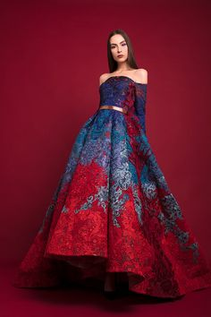Hussein Bazaza, fall 2017 - Source by katie_lis_ fashion gowns Pretty Outfits, Pretty Dresses, Look Fashion, Fashion Design, Korean Fashion, Winter Fashion, Jeans Fashion, Classy Fashion, Petite Fashion