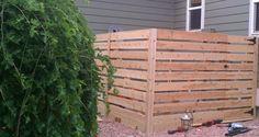 horizontal fence designs - Google Search