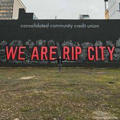 We Are Rip City Wall + Photoshoot Locations Portland Oregon // localadventurer.com