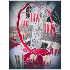 βάπτιση με θέμα luna park...  Candy bar...Στολισμός βάπτισης...Μπομπονιέρες μαγνητάκι με θέμα λουνα παρκ...orthodox baptism.... christening... Decoration...Πακέτο βάπτισης... λαμπάδα βάφτισης...Μαρτυρικά...Candy bar... Circus Birthday, Candy Bars, Vintage Circus, Park, Chocolate Chip Bars, Toffee Bars, Parks
