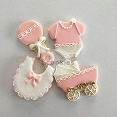 Baby Shower CookiesIt's a Girl cookies Baby Girl