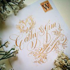 220 отметок «Нравится», 18 комментариев — F Phyllis Macaluso (@fpmmac) в Instagram: «#handlettering #handwriting #copperplate #calligraphy #creative #create #penflourishing #flourish…»