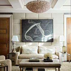 [CasaGiardino]  ♡  Trisha Reger Renovates Steven and Candace Stark's Manhattan Apartment : Architectural Digest