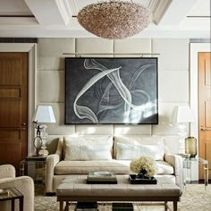 [CasaGiardino]  ♡  Trisha Reger Renovates Steven and Candace Stark's Manhattan Apartment : Architectural Digest